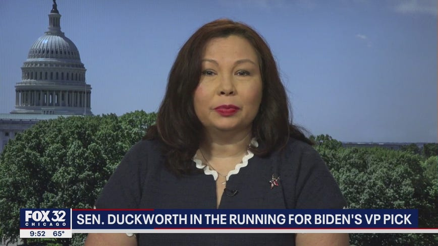 Duckworth in the running for Biden's VP pick