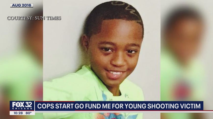 Chicago cops trying to raise $50k for shooting victim's education