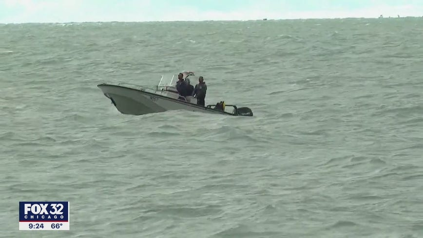 Search continues three days after 14-year-old fell into Lake Michigan at Diversey Harbor