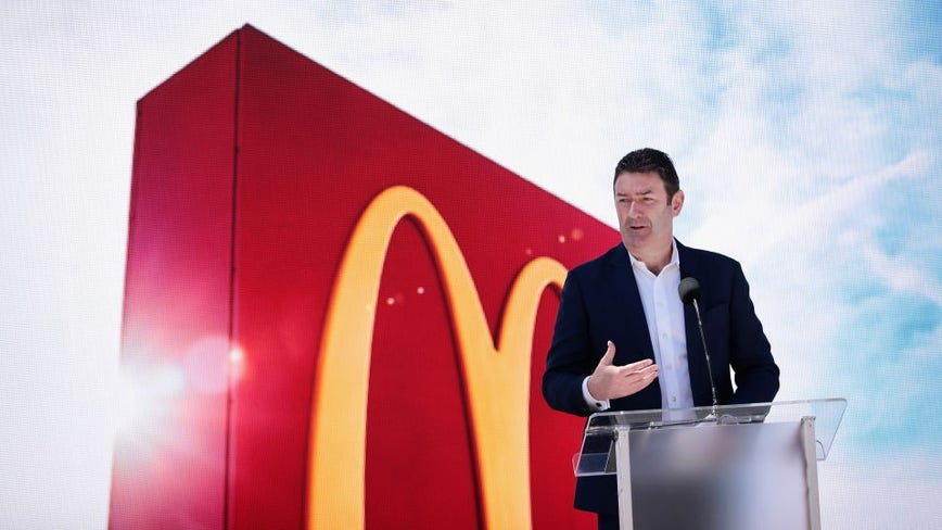 McDonald's suing ousted CEO, alleging employee relationships