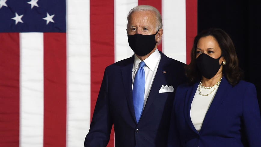 'She's ready to do this job on day 1': Joe Biden introduces Kamala Harris as running mate