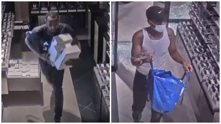 Police release another video of downtown looting
