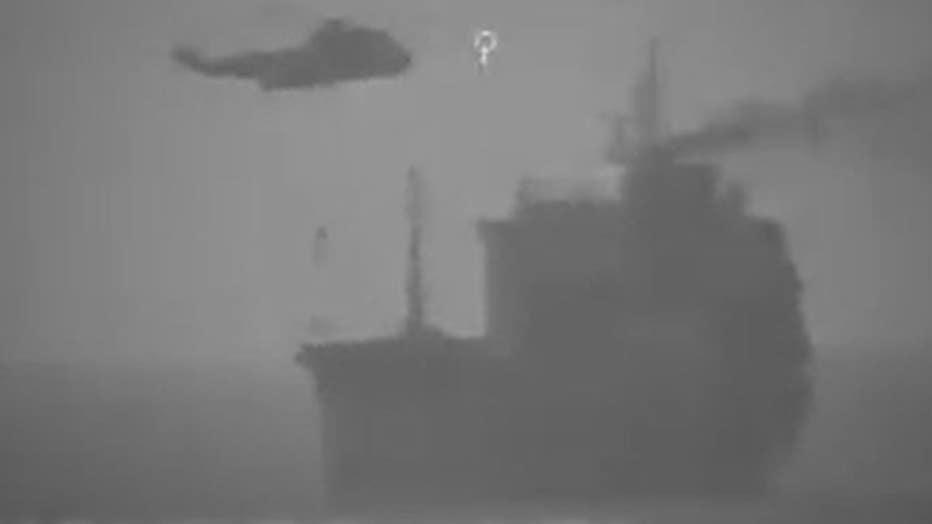Iran boards Liberian vessel