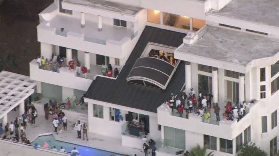 Three-Wounded-in-Shooting-at-Rowdy-Mansion-Party-near-Beverly-Hills