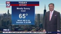 Morning forecast for Chicagoland on Sept. 18th
