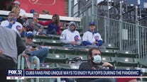 Cubs fans find ways to enjoy playoff series amid pandemic