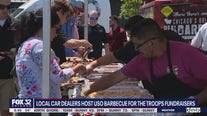 Chicagoland car dealers team up to host USO barbecue for the Troops