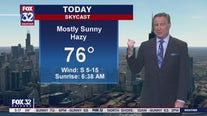Morning forecast for Chicagoland on Sept. 21st