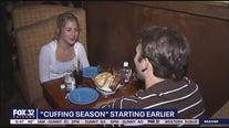 'Cuffing season' starting early this year due to COVID-19