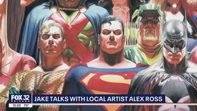 Local artist Alex Ross reflects on incredible career, talks iconography of superheroes
