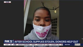 Donors pitch in after school supplies stolen in burglary