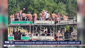 Indiana could be added to Chicago's travel order list as photo of boat party goes viral