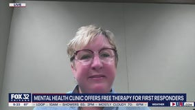 Mental health clinic offering free therapy for Chicago-area first responders