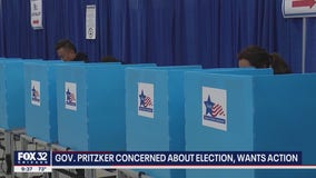Pritzker concerned about 2020 election, wants action