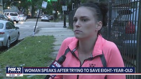 Chicago woman tried saving 8-year-old after shooting: 'I will never forget her face'