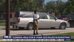 8-year-old laid to rest after being fatally shot in Canaryville