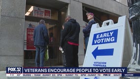 Veterans encourage Illinois residents to vote early following Trump's alleged controversial comments