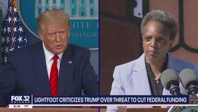 'We will see him in court': Lightfoot strikes back after Trump threatens to cut federal funding