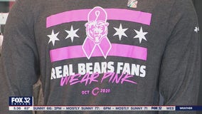 'Real Bears Fans Wear Pink' merchandise contributes to a life-saving cause
