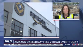 Amazon hosts virtual career day with job openings in the Chicago area