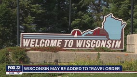 Chicago warns against Wisconsin travel, cites COVID spike