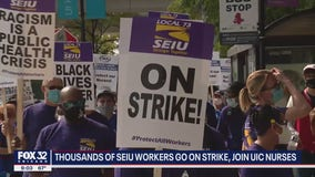 UIC nurses strike gains manpower: 'We deserve a better life'