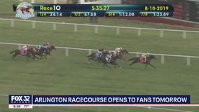 Arlington International Race Course reopens Thursday amid pandemic