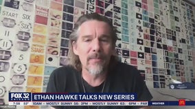 Jake Hamilton talks with Ethan Hawke about new series 'The Good Lord Bird'