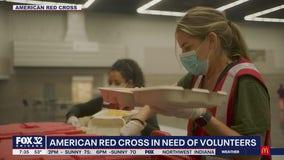 American Red Cross seeking help from volunteers