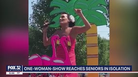 Park ridge woman performs one-woman-show for seniors isolated during the pandemic