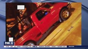 Woman hit by vehicle at South Loop bus stop
