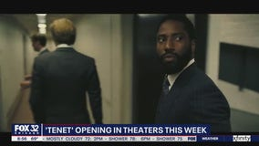 Christopher Nolan's 'Tenet' opening in theaters this week