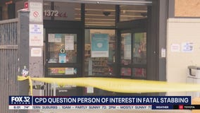 Person of interest questioned in fatal stabbing at Walgreens in Wicker Park