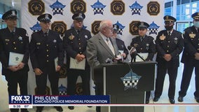 Chicago police officers honored after surviving gun battle