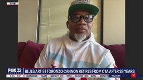 Blues artist Toronzo Cannon retires from CTA after 28 years