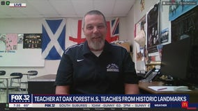 Oak Forest high school teacher takes remote learning to the next level
