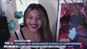 Lo Harris' art empowers, uplifts Black Chicagoans