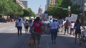 March and rally in Austin for murdered Ft. Hood Spc. Vanessa Guillen