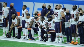 Bears players join Black Lives Matter protests before games across nation