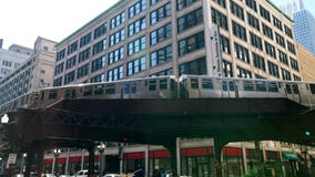 Man stabbed while riding CTA train in the Loop