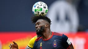 Zardes helps Columbus Crew tie Chicago Fire 2-2