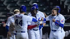 Cubs walk off over Indians on consecutive HBPs