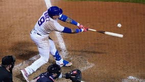 Báez single gives Cubs 4th straight win, 3-2 over Indians