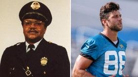Jaguars' Tyler Eifert to honor fallen retired officer on helmet: report