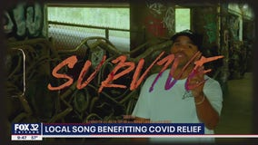 West Chicago artist using his music to provide coronavirus relief