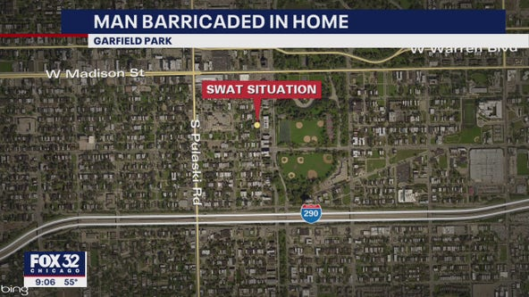 SWAT team responds to barricade situation in West Garfield Park
