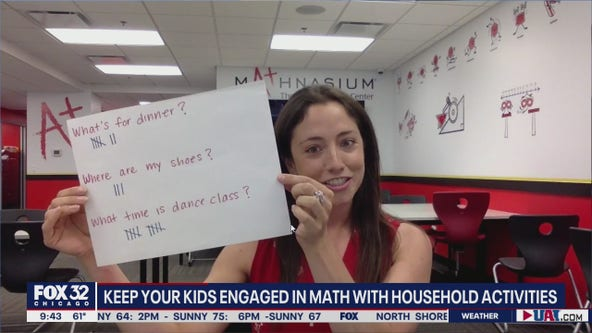 Household activities to keep kids engaged in math