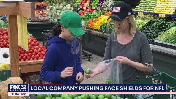 Chicago company selling face shields amid pandemic
