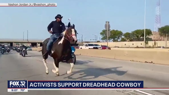 Family, activists want charges against 'Dreadhead Cowboy' dropped
