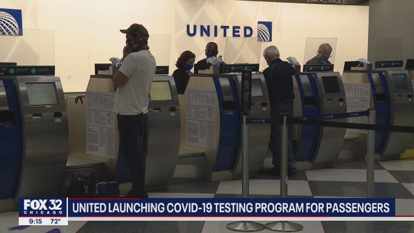 United Airlines rolling out coronavirus testing program for travelers